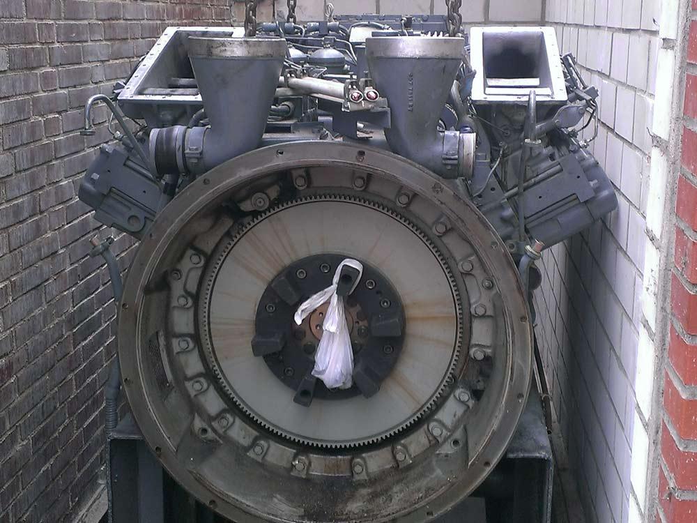 Austausch Notstromanlage in 12 Metern Tiefe